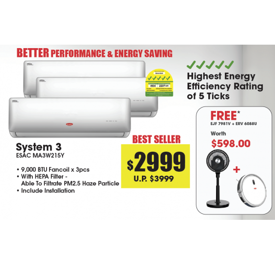 System 3 Air Conditioners