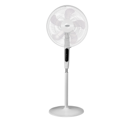 ESF 6160W ''16 Stand Fan w/ Remote Control (White)
