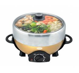 ESB 3501S Deluxe Steamboat with Grill 5L