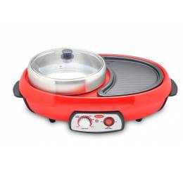 ESB 88P Electric Steamboat with BBQ Grill